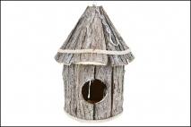 Podwieszana budka dla ptaków 34x18cm drewno
