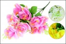Bukiet Kwiatów sztuczny róża 42cm, 10gł.
