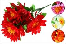Bukiet Kwiatów sztucznych 55cm, 9gł.