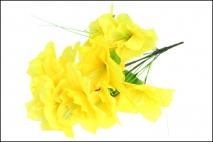 Bukiet kwiatów sztucznych żonkil 14gł.