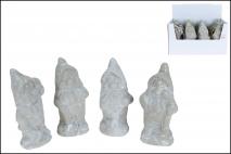 Figurka ogrodowa krasnal 20cm, ceramika