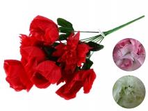Bukiet kwiatów sztucznych 40cm, 9 gł.