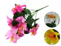 Bukiet kwiatów sztucznych 9 gł. 46cm