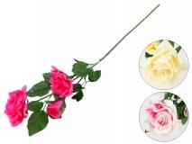 Kwiat sztuczny - róża 80cm