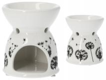Kominek ceramiczny- dmuchawce 9x9x10,5cm