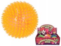 Piłka świecąca z kolcami 10cm