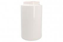 Wazon ceramiczny 14x14x25cm biały