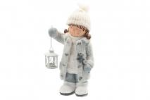 Ozd.boż. Figurka - dziecko 23x17x45cm magnesia