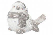 Ozd.boż. Figurka ceramiczna - ptak 21,2x15,5x16,6cm