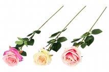 Kwiat sztuczny - róża 64cm