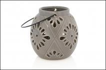 Lampion ceramiczny 10,5x10,5x12cm