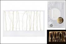 Ramka drewniana z lampkami LED 36x3x22,5cm