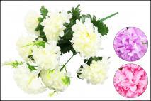 Bukiet kwiatów sztucznych 42cm, 9gł.