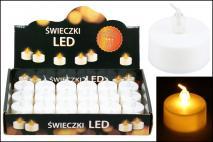 Świeczka tealight LED 3,8x1,8cm