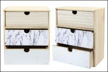 Organizer - szkatułka 28x21,5x12cm drewno
