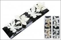 Zawieszka kwiat 4 szt/Kpl 8cm