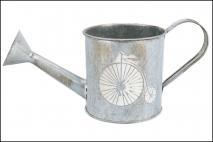 Osłonka metalowa na doniczkę h;10cm ś;10cm w;23cm