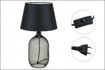 Lampka metalowa 30x30x49,5cm
