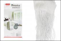 Firanka sznurkowa 100x200cm, poliester biała