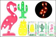 Figurka dekoracyjna led 2AA, mix 3 wzorów