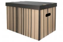 Pudełko dekoracyjne pak. 1 szt. stretch karton 460x320x330mm, pasy