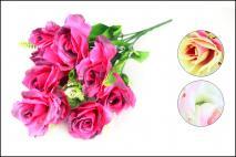 Bukiet kwiatów sztucznych 9gł.