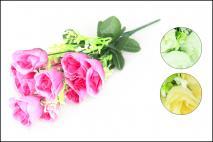 Bukiet kwiatów sztucznych 12gł.