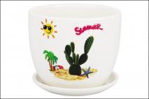 Doniczka ceramiczna 12x10cm