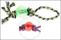 Zabawka dla zwierząt na sznurku 35cm