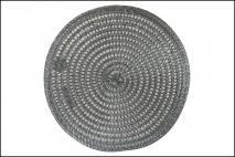 Mata stołowa 38cm, czarna