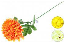 Kwiat sztuczny chryzantema 72cm