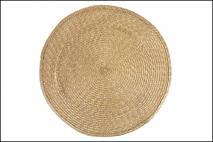 Mata stołowa 42cm, złota