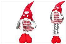 Ozd.boż. Figurka tekstylna - skrzat