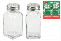Kpl Przyprawnik szklany 2szt