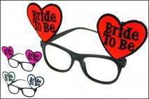 Okulary karnawałowe czerwony, biały, fuksja