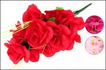 Bukiet kwiatów sztucznych 40cm, 14gł.