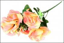 Bukiet kwiatów sztucznych 44cm, 7gł.