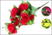 Bukiet kwiatów sztucznych 45cm, 12gł.