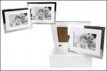 Kpl Pudełko dekoracyjne 2szt 25x20x8.8cm  22x17x6.8cm, drewno