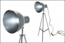 Lampka metalowa 26x26x65cm