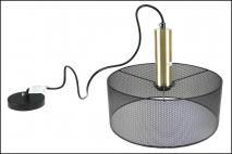 Lampa sufitowa 30x30x120cm, metal