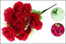 Bukiet kwiatów sztucznych 42cm, 12gł.