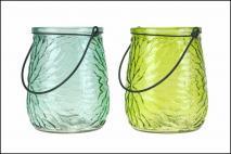 Lampion szklany 11x14cm