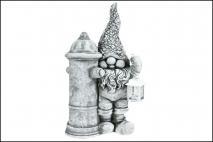 Figurka ogrodowa, 35x19x58cm magnesia
