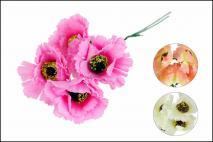 Kwiat sztuczny mix kolorów