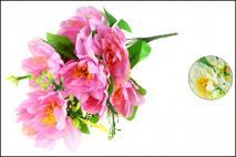 Bukiet kwiatów sztucznych 50cm, 9gł.