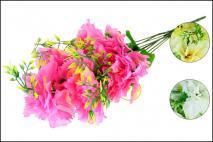 Bukiet kwiatów sztucznych 45cm, 9gł.