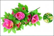 Bukiet kwiatów sztucznych 45cm, 10gł.