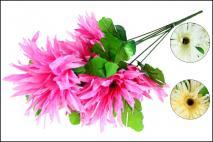 Bukiet kwiatów sztucznych 50cm, 7gł.