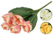 Bukiet kwiatów sztucznych 44cm, 7gł